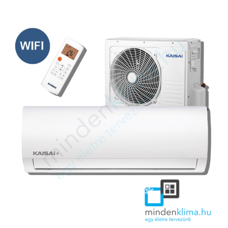 Kaisai Fly WIFI 2,6kW – KWX-09HRD1-KWX-09HRD0
